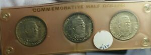 1946, 1946 -S, &1946-D Booker T Washington Commemorative Silver Half Dollar