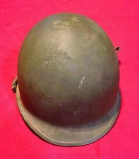 M-1 WWII Army Green Helmet And Liner    1  9665
