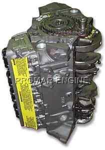 Reman 96-02 GM 5.7 Chevy 350 Vortec 4 Bolt Long Block Engine