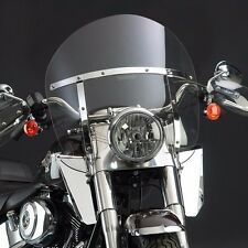 SwitchBlade® Chopped™ Quick Release Windshield Harley Davidson Heritage Softail