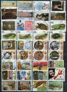 1CUBA  1982  COMPLETE YEAR SET  annual collection  1982   (3 pics)    used  cto
