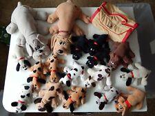 Pound Puppies Plush Lot Vintage Tonka