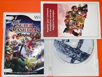 Super Smash Bros. Brawl (Wii, 2008) Complete