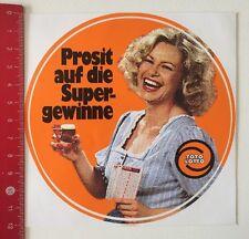ADESIVI/Sticker: TOTO LOTTO-prosit sui profitti SUPER (140316120)