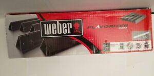 Weber 7621 Gas Grill Porcelain Enameled Flavorizer Bar Set New Open Box