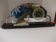 Art Deco Decorative Glass Clock