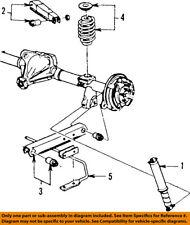 GM OEM Rear-Shock Absorber or Strut 22065228