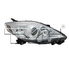 TYC 20-12023-01 Headlight Light Right Passenger Side Halogen Chrome New