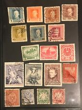 AUSTRIA postage stamps lot of 18  old