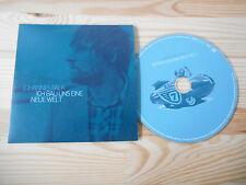 CD Pop Johannes Falk - Ich bau uns eine neue Welt (2 Song) MCD GERTH MEDIEN