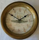 TIME WORKS Thomas Paine Ship's Clock Brass New in Box. Priced for quick sale.