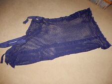 Horse Mesh Protective Fly Show Sheet Navy