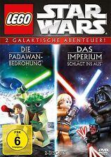 2 DVD - Lego Star Wars: Die Padawan Bedrohung / Das Imperium schlägt ins Aus+ovp