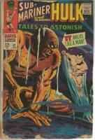 Tales to Astonish #92 ORIGINAL Vintage 1967 Marvel Comics Hulk Sub Mariner