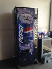 Pepsi/Coke Dixie Narco 276-6 Flat Front Soda Vending Machine W/Coin & $Bill'S