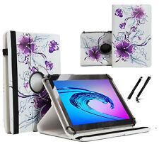 """Schutzhülle für Samsung Galaxy Tab 2 P5110 Tablet Case 10.1"""" 360 Lila Blumen"""