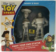 (TAS032793) - Disney Pixar Toy Story Paint Statue - Woody & Buzz