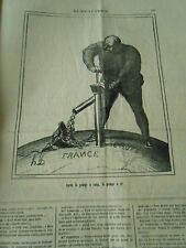HD 3492 DAUMIER 1871 After the pump sang, the pump gold