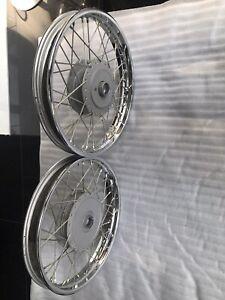 Royal Enfield Orignal Wheel (rim) Set