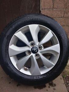 Kia rio 2011-17 alloy wheel genuine
