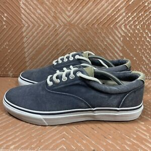 Sperry Top-Sider Striper Navy Men's  US 12 Sneakers Shoes