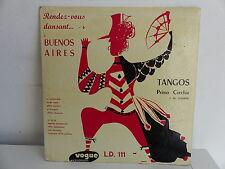 """PRIMO CORCHIA Tangos Rendez vous dansant a Buenos Aires LD 111 25 CMS 10"""""""