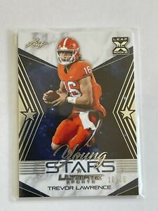 2021 LEAF Ultimate Sports Young Stars - TREVOR LAWRENCE RC - Silver Foil #10/99