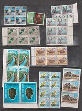 Useful Rhodesia u/mint Blocks