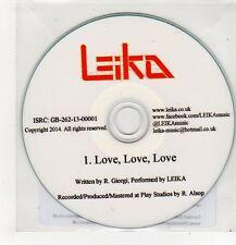 (FF363) Leika, Love Love Love - 2014 DJ CD