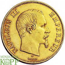 R792) FRANKREICH 100 Francs 1855 A - Napoleon III. 1852-1870 - Gold