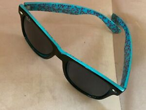 RAY-BAN LUXOTTICA 100% UV PROTECTION SUNGLASSES RB4171-F wTURQUOISE SUEDE RIMS