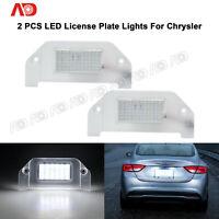 For 05-14 Chrysler 300 300C White SMD LED license Plate Light LAMP LH+RH 2PCS