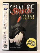 Creature Shock - Sega Saturn - Replacement Case - No Game