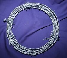 Barbed Wire 25' feet barb ware 15 gauge 4 point new