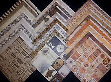 12X12 Scrapbook Paper Cardstock Halloween Ravensclaw Potter Magic Wizards 24 Lot