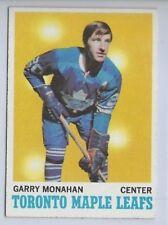1970 TOPPS # 112 GARRY MONAHAN NICE CARD