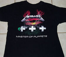 Metallica T Shirt Master Of Puppets (Xl) Mens Extra Large megadeth iron maiden