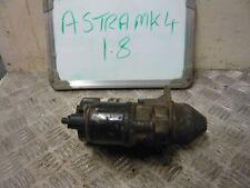 VAUXHALL ASTRA SXI 1.8 MK4 2002 STARTER MOTOR BOSCH 0001107405