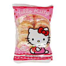 Senbei Hello Kitty Strawberry Rice Crackers 2.47 oz FAST SHIP - US SELLER