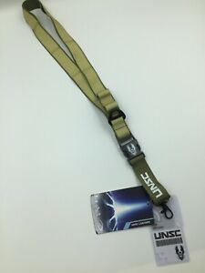 HALO UNSC LANYARD WITH ID CREW CARD - Officially Licensed - Microsoft - bnwt