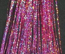 "240 Strand, 40"" Sparkle Pink Silk Hair Tinsel, #21"