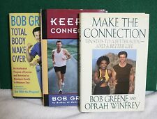 Lot-3 Bob Greene Health Diet HB Make & Keep The Connection & Total Body Makeover