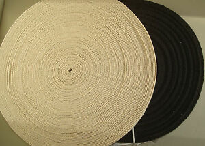 COTTON WEBBING HERRINGBONE BUNTING APRON SEWING TAPE TWILL VARIOUS SIZES COLOURS