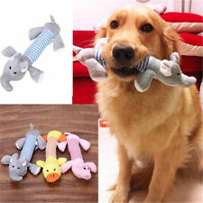 Cool Pet Puppy Chew Squeaker Squeaky Plush Sound Pig Elephant Duck For Dog Toys