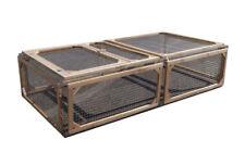 Enclos Lapin/cochon D'inde-bois Douglas Made in France-200x100xh50cm Fppl200sf