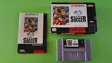 FIFA INTERNATIONAL SOCCER / boite & notice / SUPER NINTENDO / version US / USA