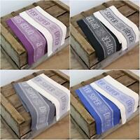 3 PACK SUPER DRYER TEA TOWELS 100% COTTON WAFFLE TEA TOWEL DISH DRYING CLOTH