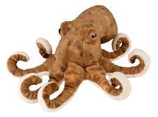 "Wild Republic OCTOPUS 8"" Plush Cuddlekins Stuffed Animal NEW"