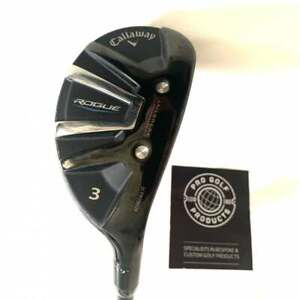 Callaway Rogue 2020 3 Hybrid w/ KBS Tour Hybrid 95 X Stiff Graphite Shaft