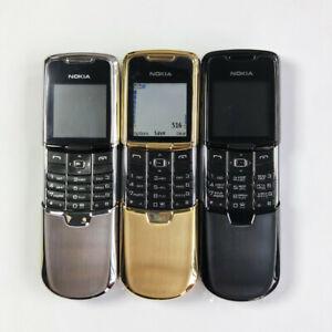 Original Nokia 8800 Classic 2G GSM Mobile Phone Russian Arabic English Keyboard